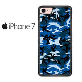 Camouflage Army Blue Iphone 7 Case