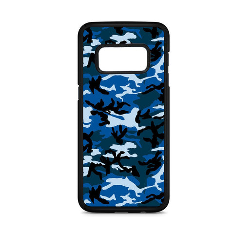 Camouflage Army Blue Samsung Galaxy S8 Case