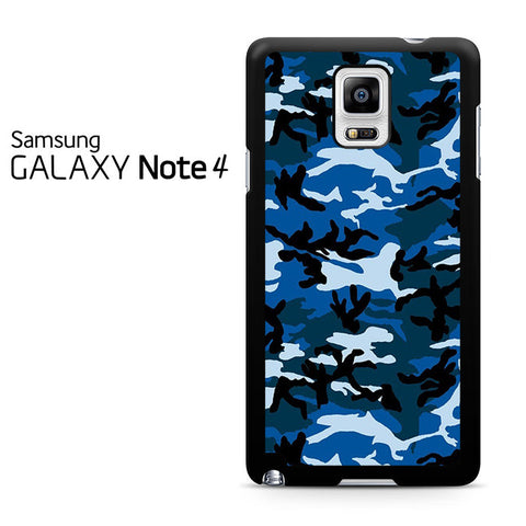 Camouflage Army Blue Samsung Galaxy Note 4 Case