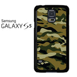 Camouflage Army Brown Samsung Galaxy S5 Case