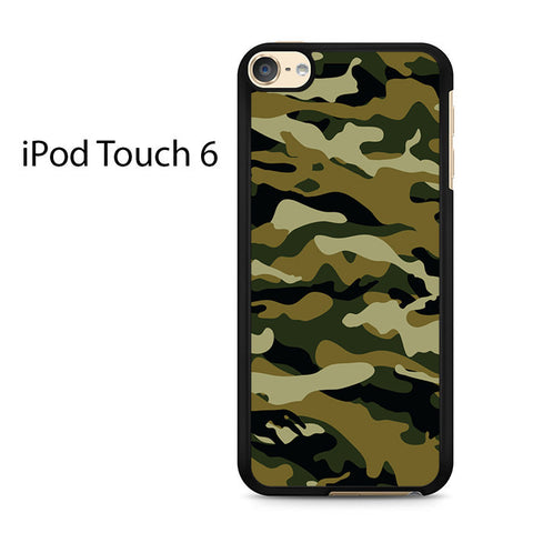 Camouflage Army Brown Ipod Touch 6