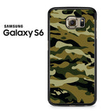 Camouflage Army Brown Samsung Galaxy S6 Case