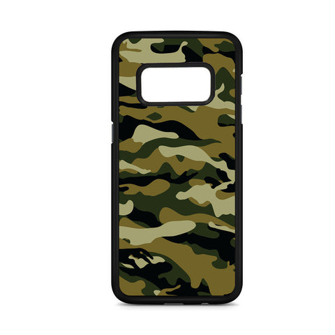 Camouflage Army Brown Samsung Galaxy S8 Case