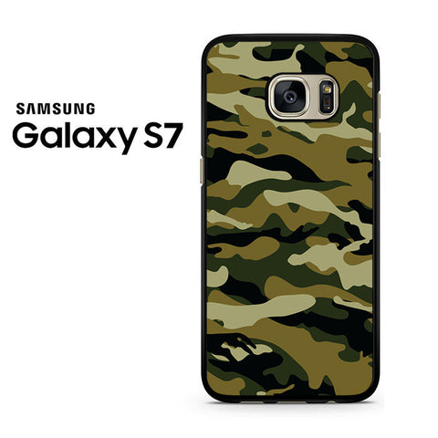 Camouflage Army Brown Samsung Galaxy S7 Case