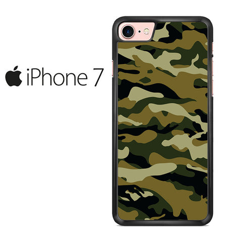 Camouflage Army Brown Iphone 7 Case