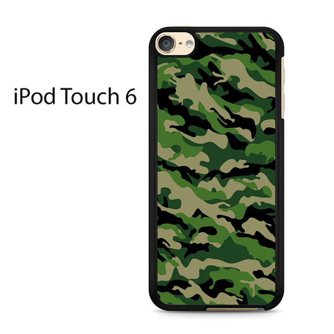 Camouflage Army Green Ipod Touch 6
