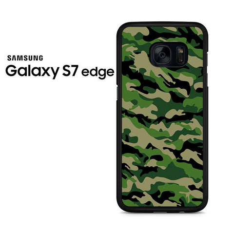 Camouflage Army Green Samsung Galaxy S7 Edge Case