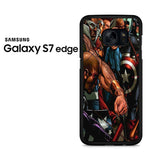 Captain Ameica Civil War Battle 1 Samsung Galaxy S7 Edge Case