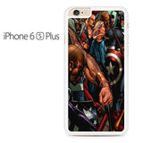 Captain Ameica civil war Battle 1 Iphone 6 Plus Iphone 6S Plus Case