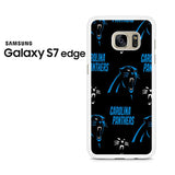 Carolina Panthers Samsung Galaxy S7 Edge Case