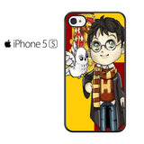 Chibi Harry Potter Owl Iphone 5 Iphone 5S Iphone SE Case
