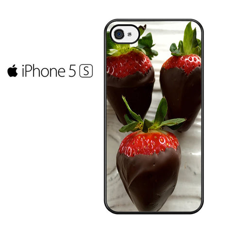 Chocolate Covered Strawberries Iphone 5 Iphone 5S Iphone SE Case