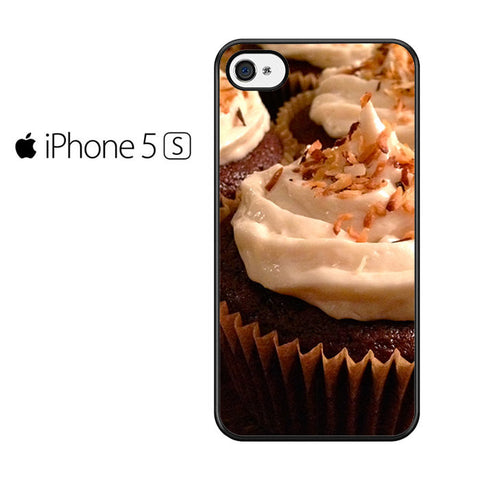 Chocolate Kahlua Cupcakes with Coconut Frosting Iphone 5 Iphone 5S Iphone SE Case