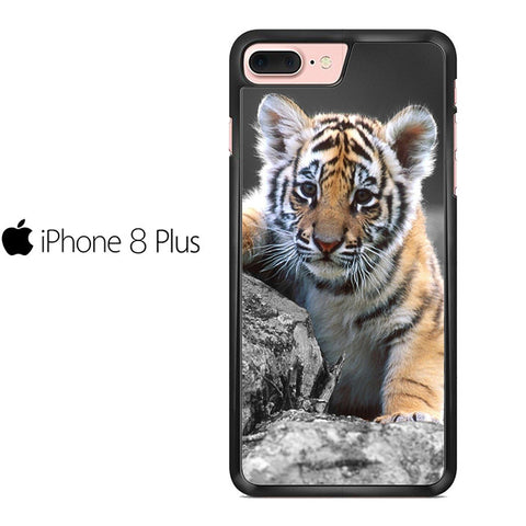 Cute Baby Tiger Iphone 8 Plus Case