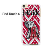 Alabama Roll Tide Chevron Ipod Touch 6 Case