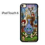 Alice In Wonderland Character Ipod Touch 6 Case