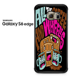 All The Coffee And Waffles Samsung Galaxy S6 Edge Case