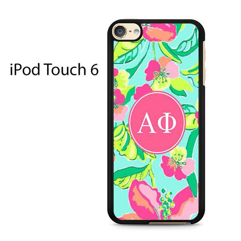 Alpha Lily Pulitzer Ipod Touch 6 Case