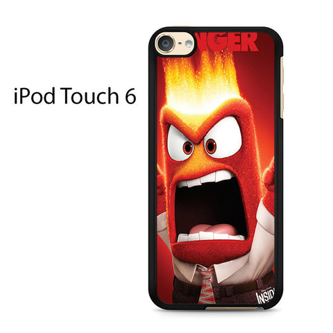 Anger Inside Out Ipod Touch 6 Case
