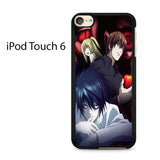 Anime Red Eyes Death Note 2 Ipod Touch 6 Case