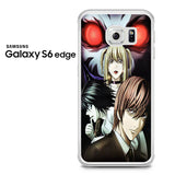 Anime Red Eyes Death Note Samsung Galaxy S6 Edge Case