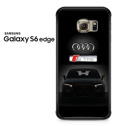 Audi S-Line Car Samsung Galaxy S6 Edge Case