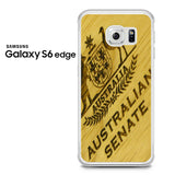 Australian Senate Wood Samsung Galaxy S6 Edge Case