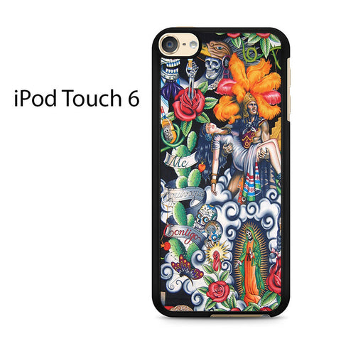 Aztec Warrior Ipod Touch 6 Case