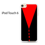 Black Red Custom Ipod Touch 6 Case
