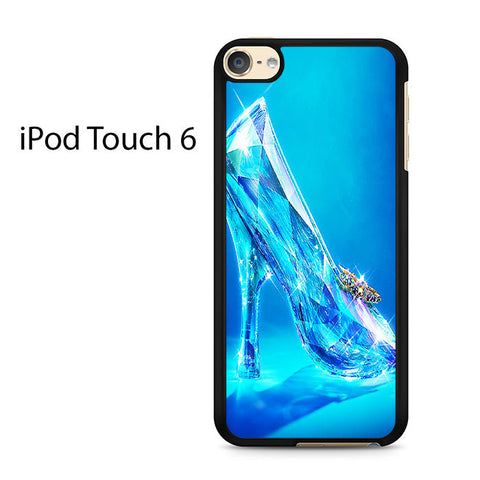 Blue Crystal Shoe Ipod Touch 6 Case