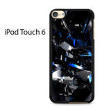 Blue Crystal Ipod Touch 6 Case