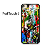 Brooklyn Street Art Ipod Touch 6 Case