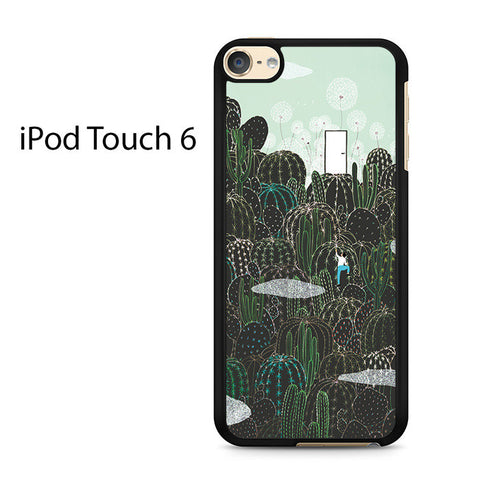 Cactus Drawing Art Ipod Touch 6 Case