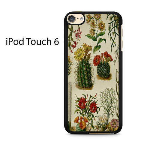 Cactus Print 2 Ipod Touch 6 Case