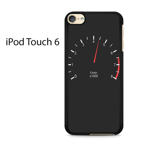 Car Tachometer And Moving Pointer Ipod Touch 6 Case