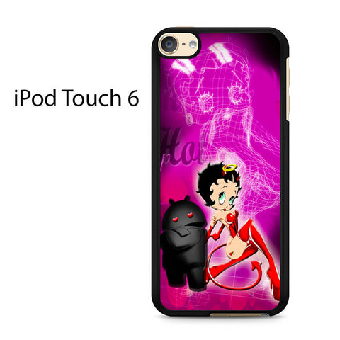 Chara Android Black Purple Ipod Touch 6 Case