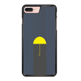 Yellow Umbrella Iphone 7 Plus Case