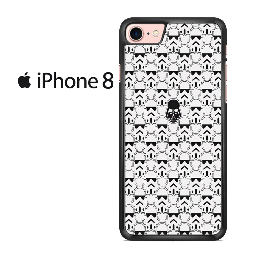 Stormtrooper Pattern Iphone 8 Case
