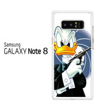 Donald Duck James Bond Samsung Galaxy Note 8 Case