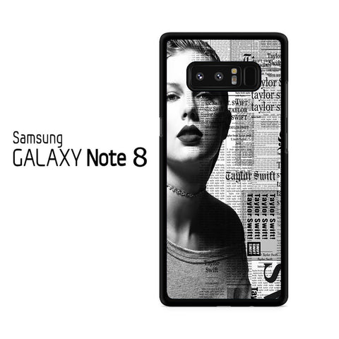 Taylor Swift Reputation Samsung Galaxy Note 8 Case