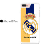 Real Madrid Logo 2 Stripe Iphone 8 Plus Case