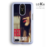 Taylor Swift Red Album LG K10 Case