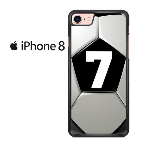 Soccer Ball Number 7 Iphone 8 Case