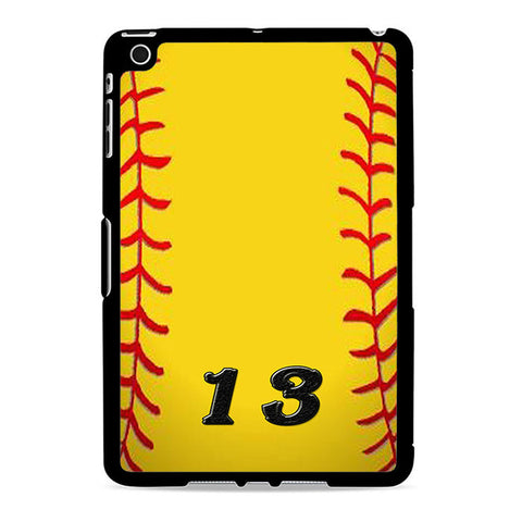 13 Custom Softball Ipad Mini 2 Case