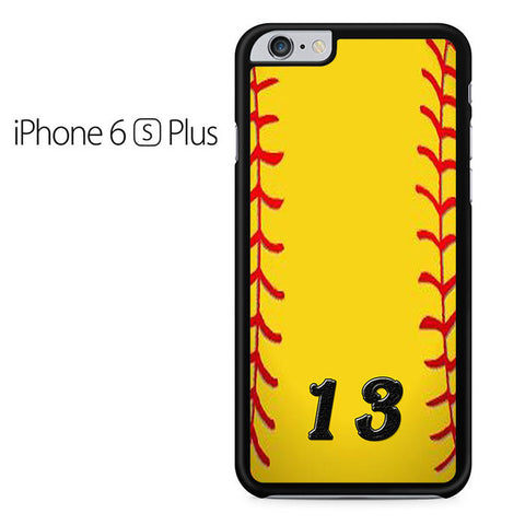 13 Custom Softball Iphone 6 Plus Iphone 6S Plus Case