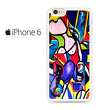 Abstract Art Picasso Iphone 6 Iphone 6S Case