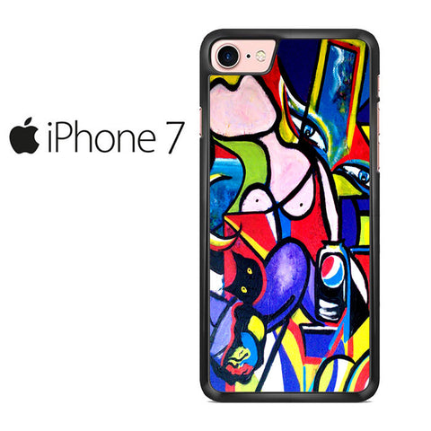 Abstract Art Picasso Iphone 7 Case