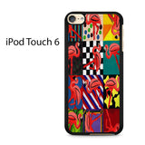 Abstract Art Portrait Ipod Touch 6 Case