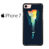 Abstract Umbrella Iphone 7 Case