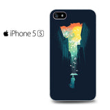 Abstract Umbrella Iphone 5 Iphone 5S Iphone SE Case